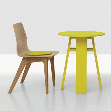 Morph Kid Chair + Table By Zeitraum Previously Offered Only In A Full Scale