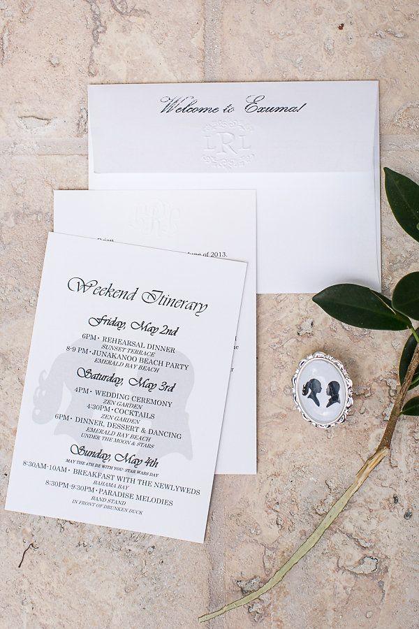 wedding invitations for less than dollar%0A Bahamas Wedding At Sandals Emerald Bay   Heather Cook Elliott Photography