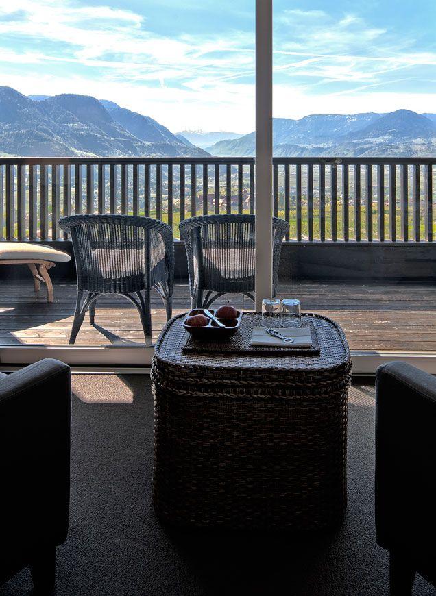 Aussicht Hotel Dorf Tirol