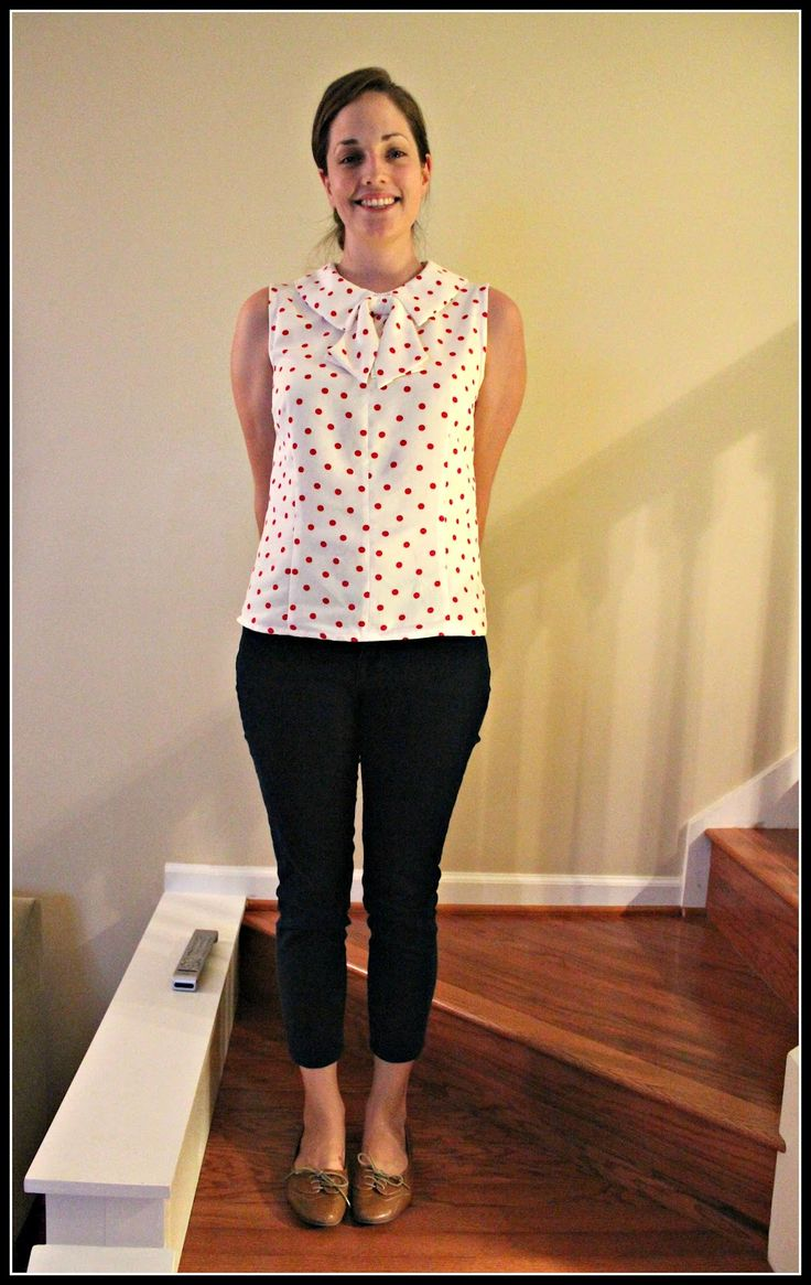 Sewin steady finished project simplicity 2154 bow blouse