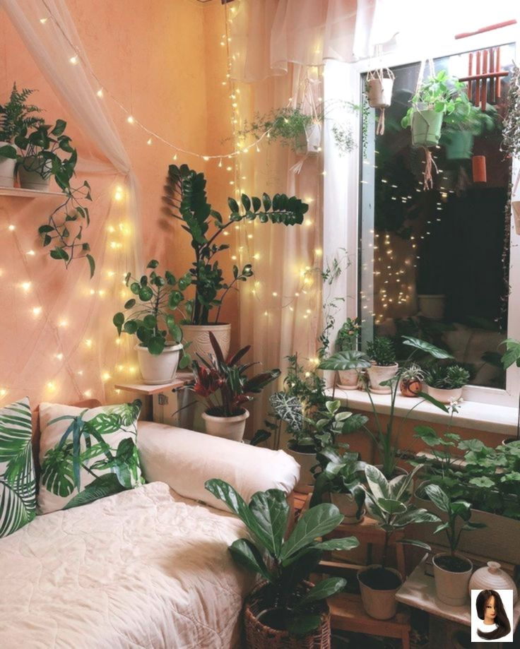 Bedroom House Instagram Plants Room Decor Plants House Of Plants On Instagram Who Wants To Have T Aesthetic Bedroom Dream Rooms Hipster Room Decor