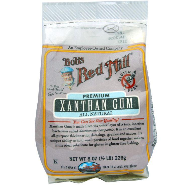 Bob's Red Mill, Xanthan Gum, Gluten Free, 8 oz (1/2 lb) 226 g - iHerb.com