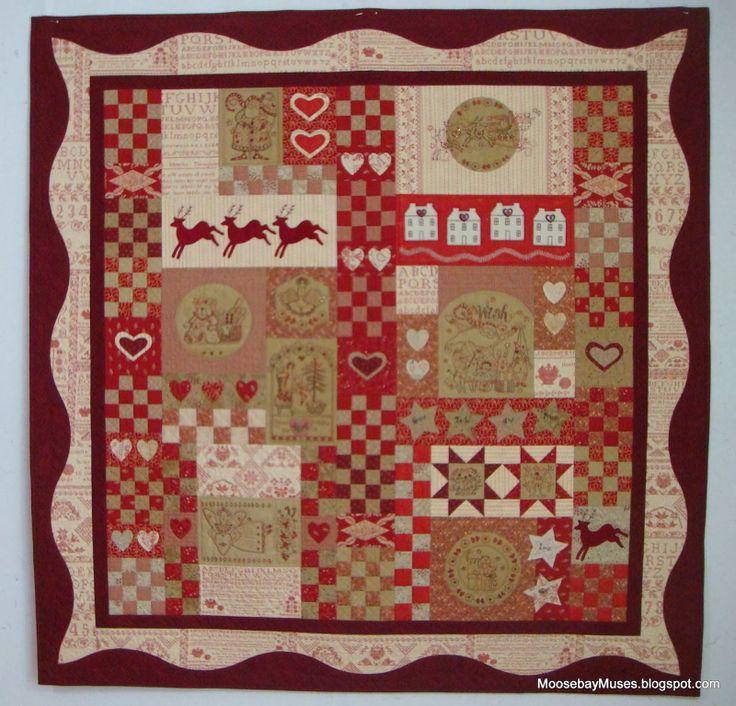 429 best Crafty Ideas - Red Brolly / Gingham Girls / Bronwyn Hayes ... : red brolly wish quilt - Adamdwight.com