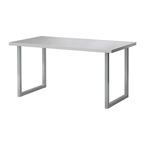 Love This Stainless Steel Table From Ikea Would Be So Cute As A Desk