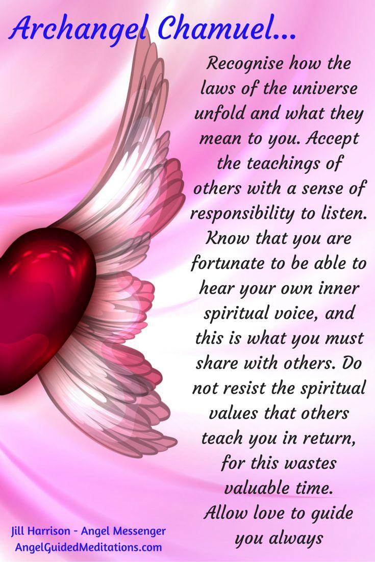 Archangel Chamuel Channelled Message through Angel Messenger Jill Harrison