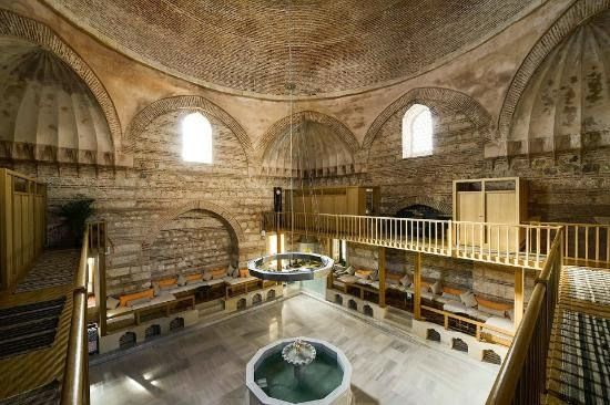 The Kilic Ali Pasha Hammam;The Hammam and the mosque (next to the hammam) had built by the commander of the naval forces Kilic Ali Pasha to Mimar Sinan in 1583