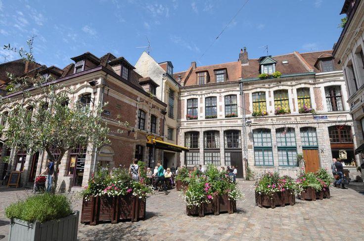 Place aux Oignons, l'un des plus jolis coins de Lille