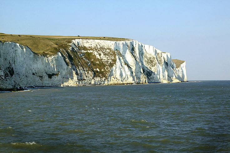 The white cliffs of Dover....
