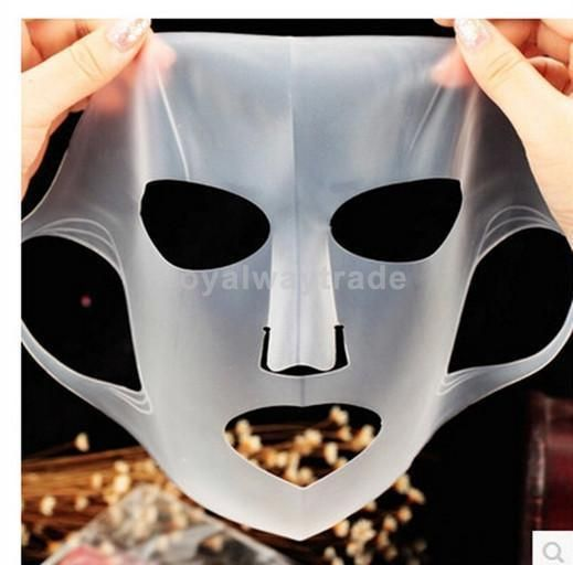 Silicone Reuse Waterproof Beauty Face Moisturizing Mask For Sheet Mask Cover