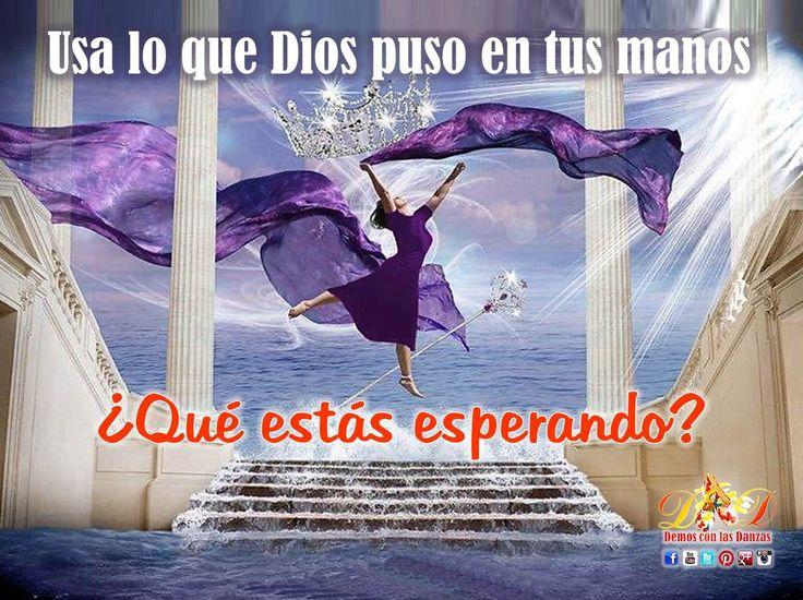 """Mensaje sobre la Danza Cristiana. Bienvenidos a la página en Pinterest """"Demos con las Danzas"""" / Venezuela. En el servicio de la Obra de Dios a través de la Danza Cristiana (Salmo 149:3). #danzacristiana #praisedance"""