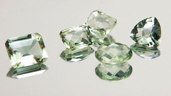 Amatista Verde Natural o Prasiolita. | GEMALANDS. Venta de piedras Preciosas y Semipreciosas