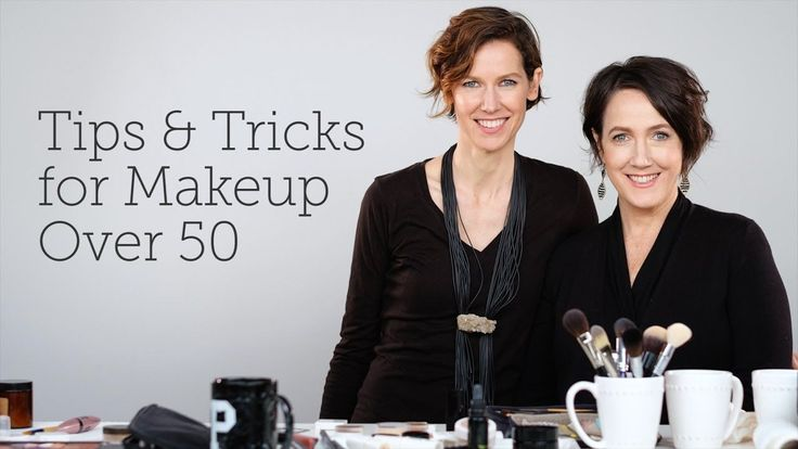 Tips & Tricks for Makeup Over 50 video makeup tutorial for seniors #aging #over50 #makeuphelp from Lia Griffith - the paper craft gal.