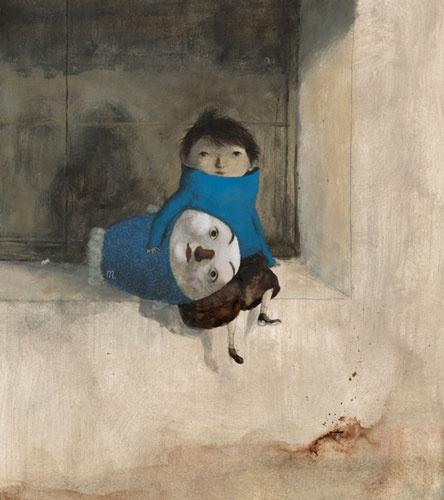 Lovely children's illustrator Pablo Auladell