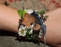 como fazer pulseiras de fita adesiva natureza, artesanato