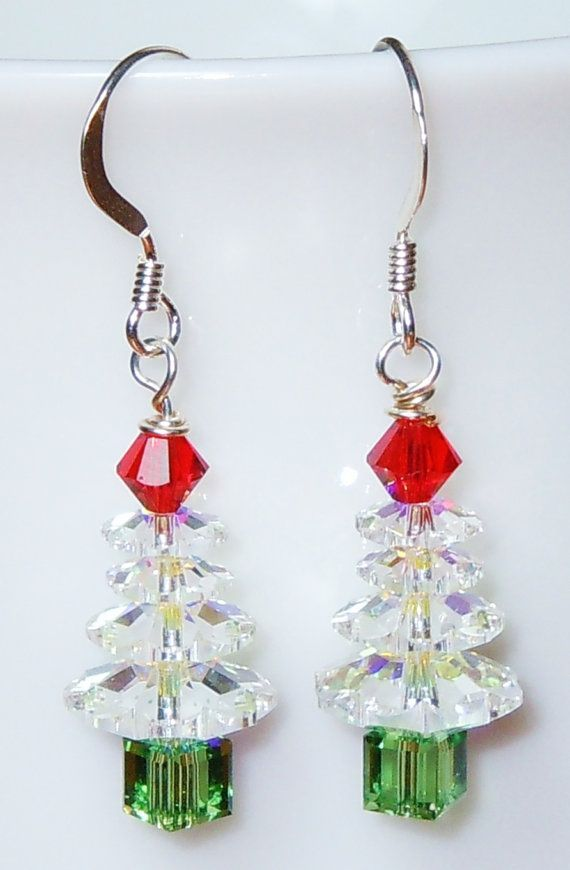 Christmas Jewelry Ideas Christmas Jewelry Christmas Tree Earrings