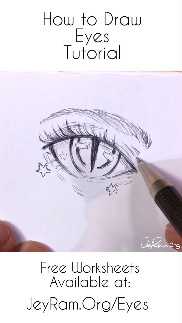 How To Draw Anime Eyes Step By Step For Beginner Jeyram Character Design In 2020 How To Draw Anime Eyes Anime Drawings Eye Drawing