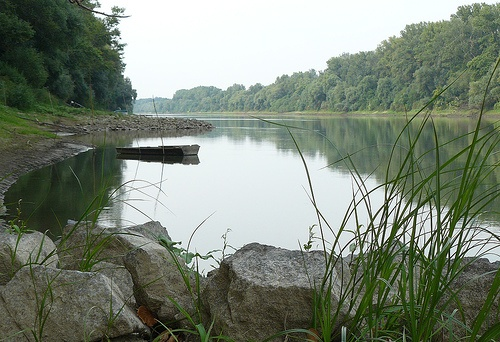 The Danube, near my hometown of Gyor