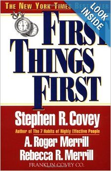 30 best franklincovey libros y audiolibros images on pinterest first things first stephen r covey a roger merrill rebecca r fandeluxe Gallery