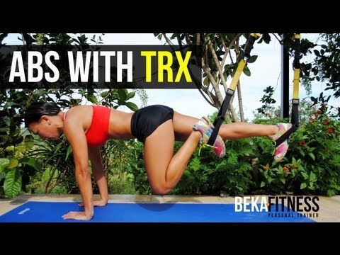 """Ultimate TRX Total CORE Destruction For 6-Pack Abs and V-Cut """"Be a 10 in 2010"""" - YouTube"""