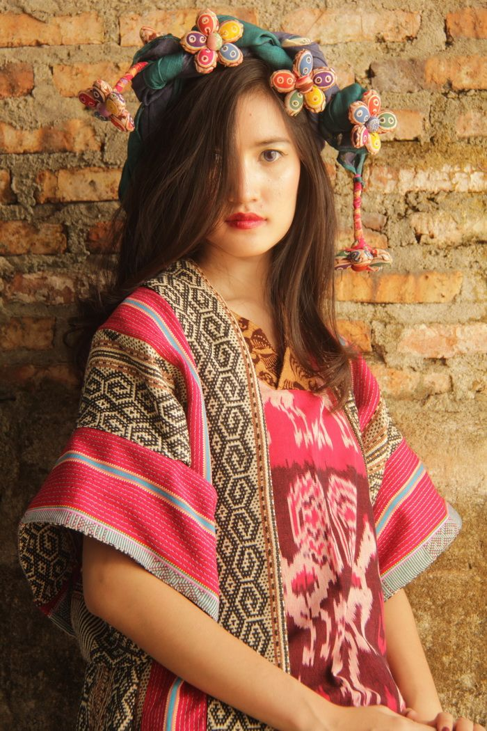 batik amarillis's kiku jacket www.batikamarillis-shop.com Made in Indonesia Kiku is unique and ethnic inspired outfit..for you who's not afraid to stand out in the crowd looking fabulously unique & stylish,it's made with beautiful ikats of Indonesia