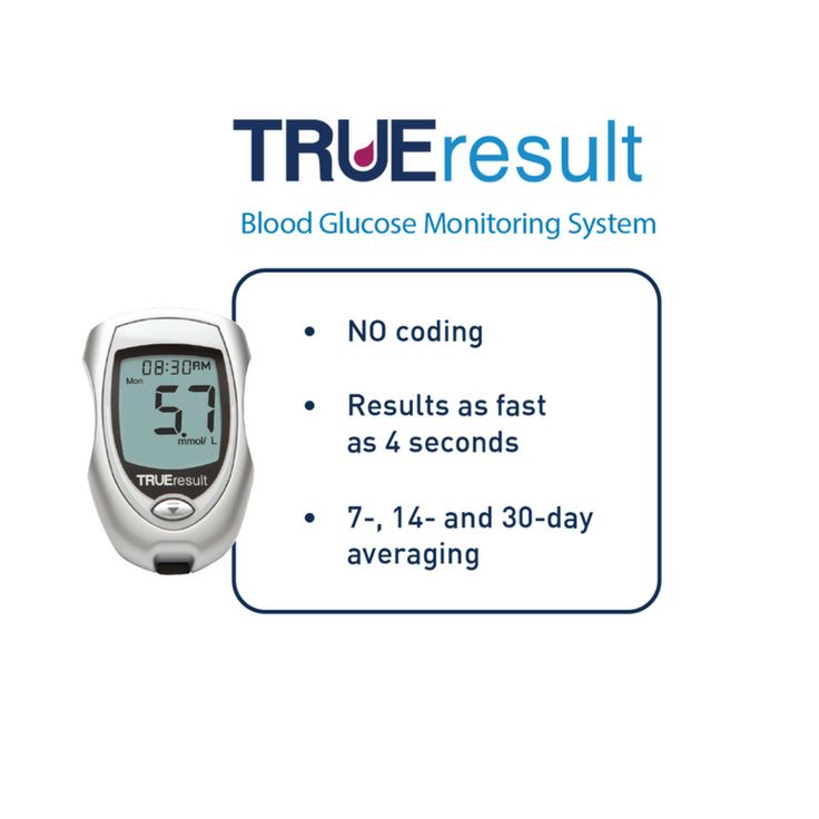 Our TRUEresult #bloodglucosemeter is the advanced performance meter for easy, accurate* testing. Used with state-of-the-art TRUEresult Test Strips, this meter's ease of use offers precise, fast, and confident testing. #diabetes