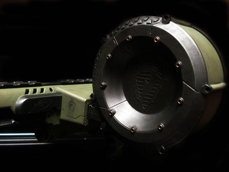 Heavy Metal Nerf Raider CS 35 Rampage Halo Prop Gun Custom Pro Painted | eBay