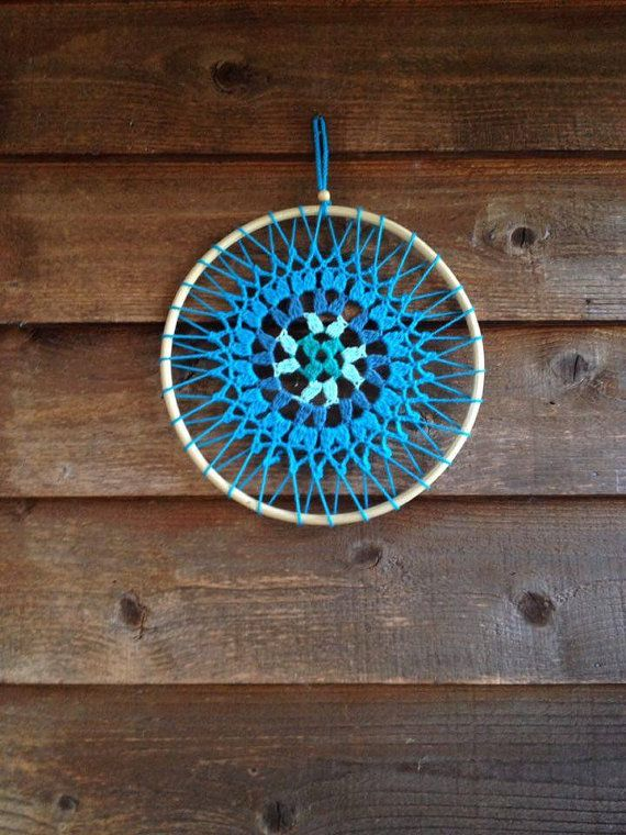 AzulesTurquesas Mandala Crochet by FlowingBuenaVida on Etsy