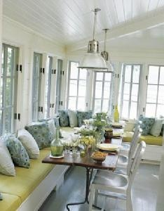 seating storage sunroom