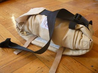 Lindsay & Company: how to fold an ergo carrier. This looks so much better than the way I do it!