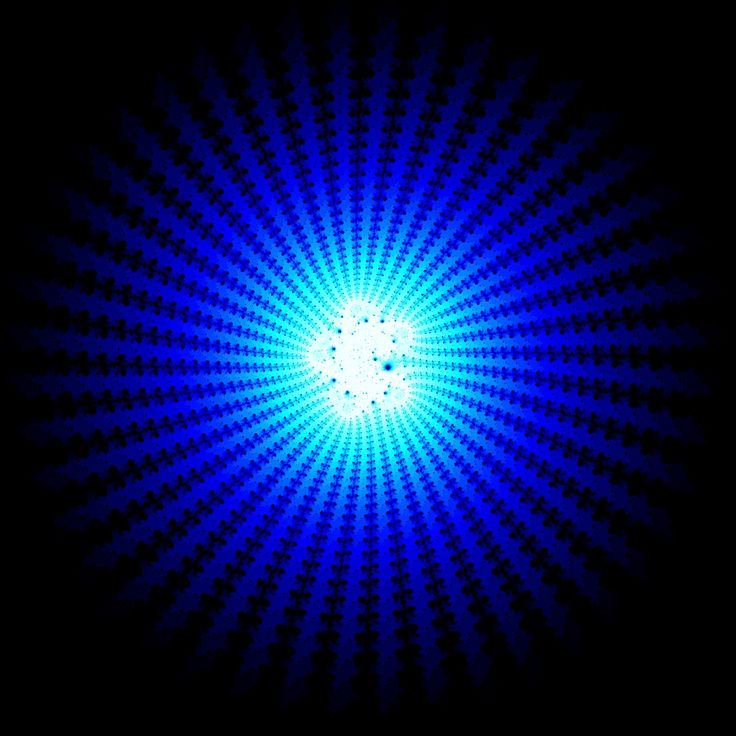 A wonderfull spiral created using a fractional polynom p/q