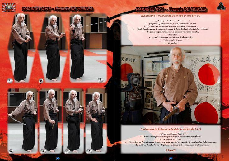 MAGAZINE ARTS MARTIAUX JACQUES LEVINET - ÉCOLE JAPONAISE DE KENJUTSU avec Francis De Hebles -