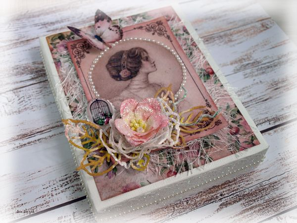Artdeco Creations Brands: Cardmakers Treasure Box by Sue Smyth