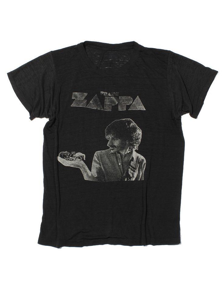 Frank Zappa Vintage T-Shirt 1980