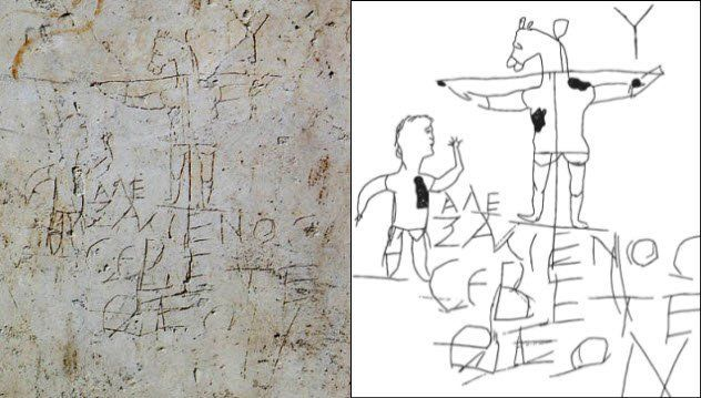 """In AD 200, a Roman named Alexamenos was a member of the Christian faith and his community didn't care for it. One man, who must have hated Alexamenos, etched a crude drawing of a man worshiping a donkey-headed man on a cross. Scribbled underneath were the words: """"Alexamenos worships his God.""""It was a hateful act, but it wasn't unique. In the early days of Christianity, many Romans believed that Christians were cannibals. Even Marcus Aurelius's tutor went on record saying that Christians held…"""