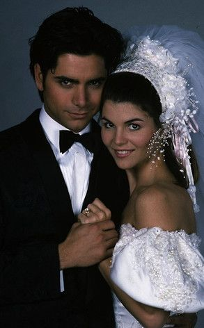 Full House, John Stamos, Lori Loughlin. Always liked to pretend they were a real couple ;)