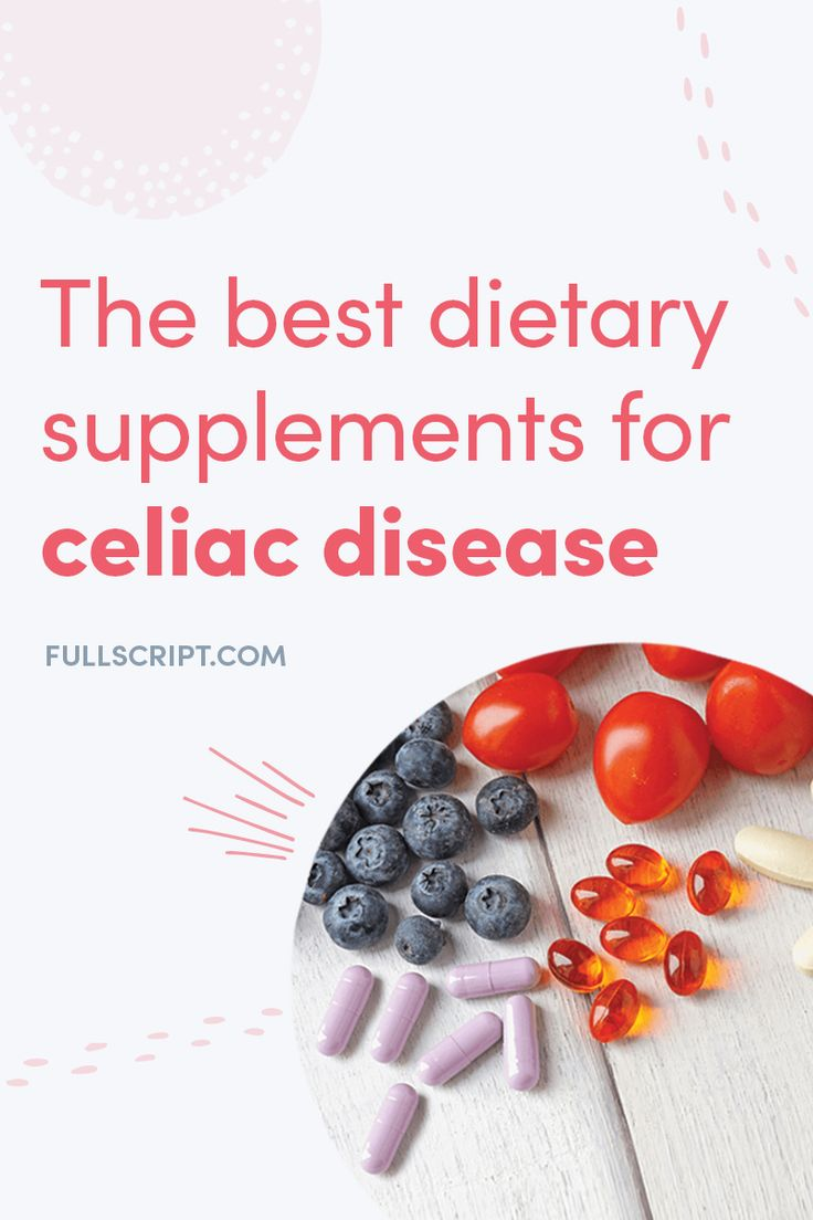 How About Them? Best Dietary Supplements For Celiac ...