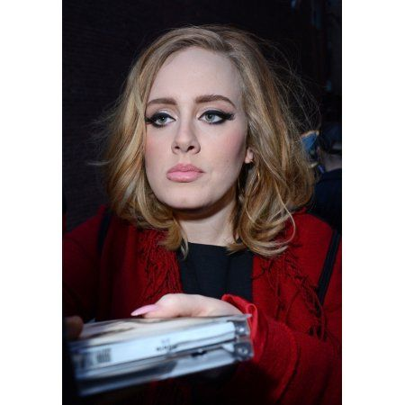 Adele At Arrivals For Iheartradio Album Release Party For AdeleS 25 Canvas Art - (16 x 20)