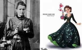 Heroínas reales convertidas en princesas Disney   #ilustracion #creatividad #heroinas #davidtrumble