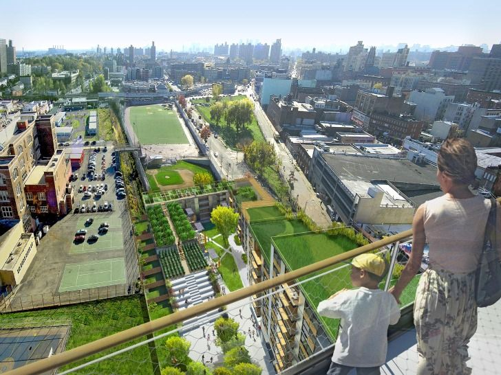 Affordable Housing in The Bronx Goes Green at Via Verde by Grimshaw Architects
