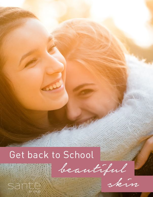 Simple skin care for back-to-school beautiful skin!