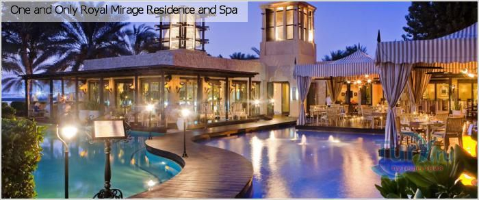 ОАЭ, Джумейра, One and Only Royal Mirage Residence and Spa