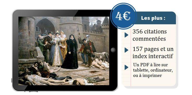 Feuilletez gratuitement notre ebook de citations historiques sur la #Renaissance et les guerres de Religion