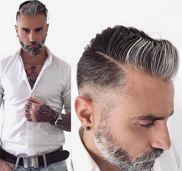 Taglio per capelli brizzolati uomo – Acconciature popolari 2018 7a039d908f12