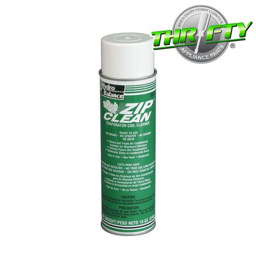 Thrifty Appliance Parts LLC - ZC-02 Zip Clean Air Conditioner / Refrigerator Evaporator Coil Cleaner, $9.75 (http://www.thriftyapplianceparts.com/zc-02-zip-clean-air-conditioner-refrigerator-evaporator-coil-cleaner/)
