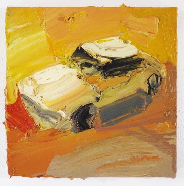 Ben Quilty  One hit Torana no.5 2003  Oil on Canvas  http://www.benquilty.com