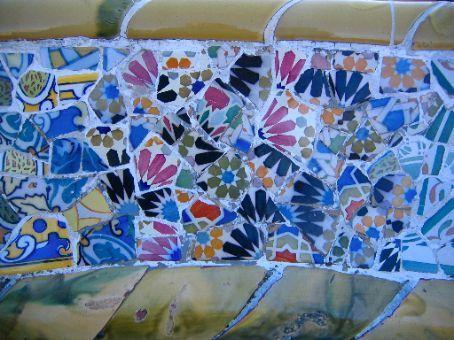 mozaiek bank park guell