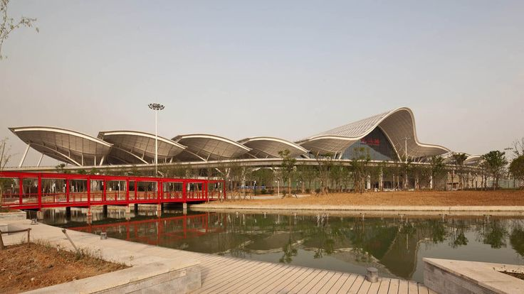 Wuhan Railway Station AREP Ville