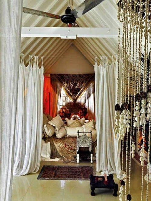 Hippie beaded door curtains - Curtains Boho Home Decor Pinterest