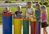 Hand Drums/ explore this site ! Musical playgrounds for indoors and outside