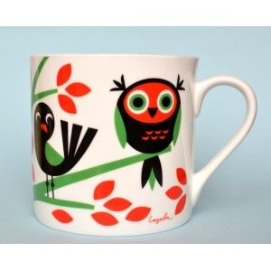 Coffee mug - Fageltrad @mosliving